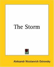Cover of: The Storm | Alexander Ostrovsky