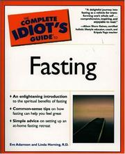 Cover of: The Complete Idiot's Guide(R) to Fasting