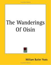 Cover of: The wanderings of Oisin: and other poems