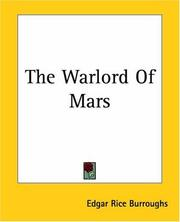 Cover of: The Warlord of Mars (Martian Tales of Edgar Rice Burroughs)