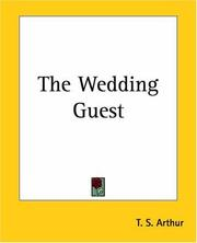 Cover of: The Wedding Guest | Arthur, T. S.