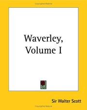 Cover of: Waverley by Sir Walter Scott
