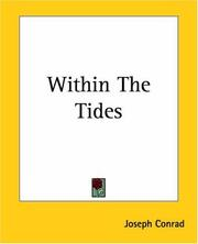 Cover of: Within The Tides | Joseph Conrad