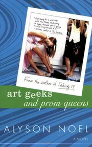 Cover of: Art geeks and prom queens