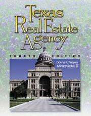 Cover of: Texas real estate agency