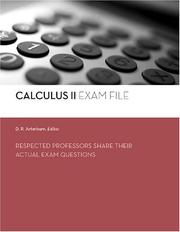 Cover of: Calculus II