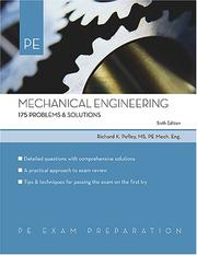 Cover of: Mechanical engineering problems & solutions