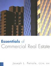 Cover of: Essentials of Commercial Real Estate