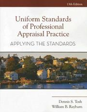Cover of: Uniform Standards of Professional Appraisal Practice: Applying the Standards