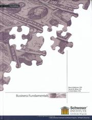 Cover of: Business Fundamentals