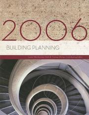 Cover of: Building Planning | Lester Wertheimer
