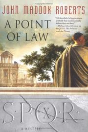 Cover of: A Point of Law (SPQR X)