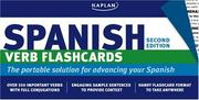 Cover of: Kaplan Spanish Verb Flashcards