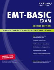 Cover of: zip a nut Kaplan EMT-Basic Exam | Richard Lapierre