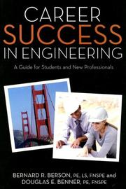 Cover of: Career success in engineering