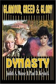 Cover of: Glamour, Greed & Glory - Dynasty