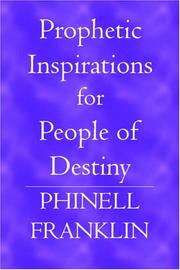 Cover of: Prophetic Inspirations for People of Destiny