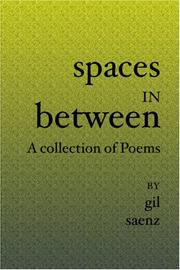 Cover of: Spaces In Between