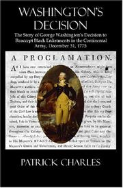 Cover of: Washington's Decision