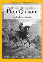 Cover of: The Adventures and Misadventures of Don Quixote | James H. Montgomery