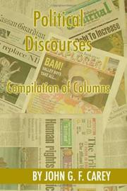Cover of: Political Discourses