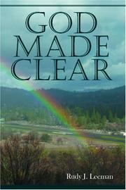 Cover of: God Made Clear