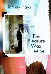 Cover of: The pleasure was mine