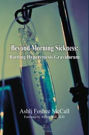Cover of: Beyond Morning Sickness