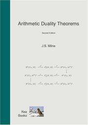Cover of: Arithmetic Duality Theorems