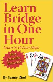 Cover of: Learn Bridge in One Hour
