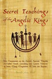 Cover of: Secret Teachings of the Angelic Kings | Davied Asia Israel