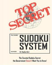 Cover of: Top Secret Sudoku System | Stephen Kerr
