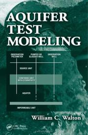 Cover of: Aquifer Test Modeling