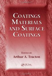 Cover of: Coatings Materials and Surface Coatings