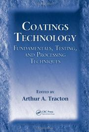 Cover of: Coatings Technology