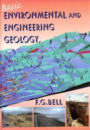 Cover of: Basic Environmental and Engineering Geology