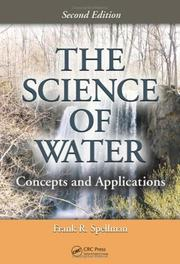 The science of water by Frank R. Spellman