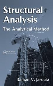 Cover of: Structural Analysis