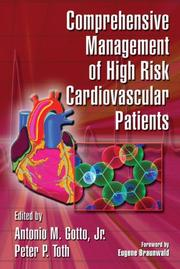 Cover of: Comprehensive management of high risk cardiovascular patients