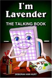Cover of: I'm Lavender