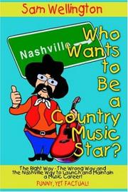 Cover of: Who Wants to Be a Country Music Star?