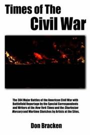 Cover of: Times of the Civil War | Don Bracken