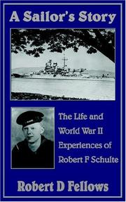 Cover of: A Sailor's Story
