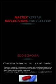 Cover of: Matrix Reflections | Eddie Zacapa