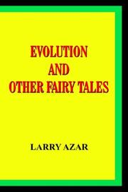Cover of: EVOLUTION AND OTHER FAIRY TALES