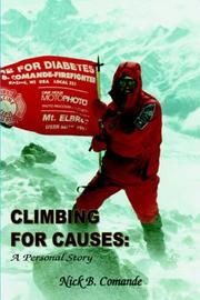 Cover of: Climbing for Causes | Nick B. Comande