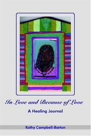 Cover of: In Love and Because of Love