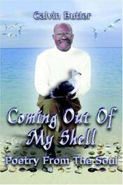 Cover of: Coming Out of My Shell