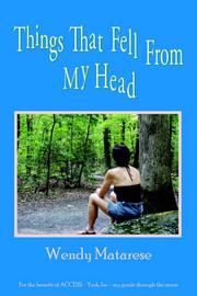 Cover of: Things That Fell From My Head
