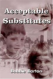 Cover of: Acceptable Substitutes